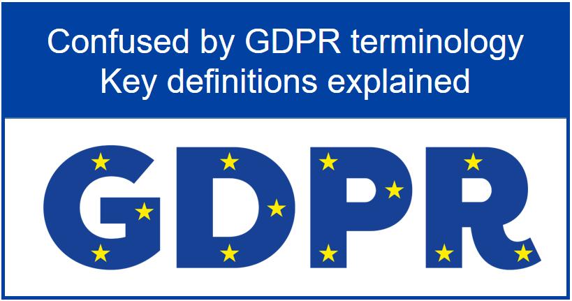 GDPR Terminology